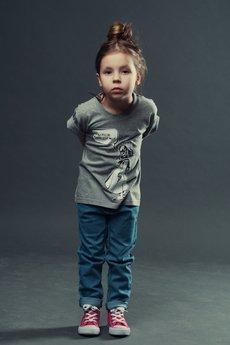 Koszulka dziecko szara3
