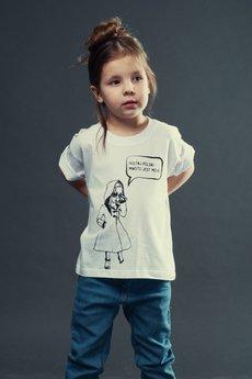 Koszulka dziecko biala