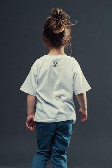 Koszulka dziecko biala2