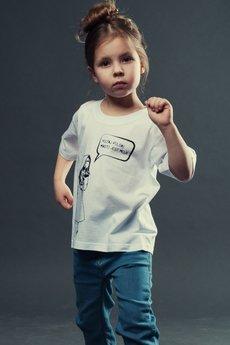 Koszulka dziecko biala3