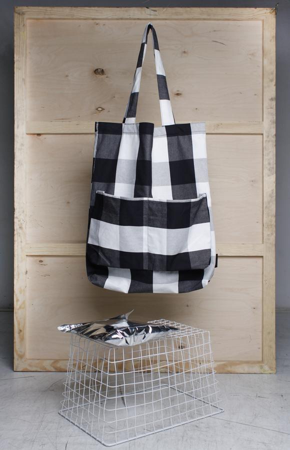 Pocket Shopperbags #2 Czarny   Bagsy   Torby I Torebki