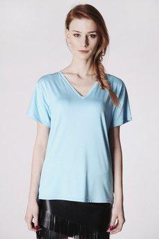 Fadd koszulka bawe%c5%82niana niebieska zbli%c5%bcenie 1
