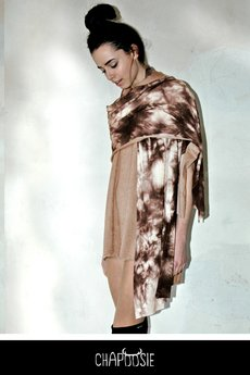 Chapoosie szal duncan shawl brwn2