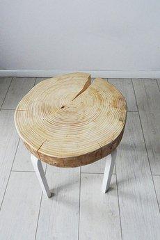 Sto%c5%82ek plaster drewna