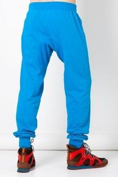 BLUE EYE POP - Spodnie męskie z obniżonyn krokiem