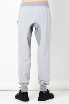 BLUE EYE POP - Spodnie męskie ze ściągaczem/melange