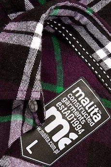 Pol pl koszula classic purple black hit  6847 3