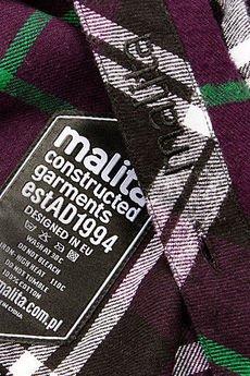 Pol pl koszula classic purple black hit  6847 8