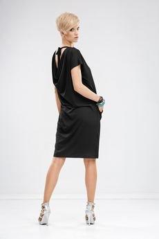Unicorno sukienka mila czarna 1