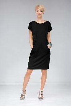 Unicorno sukienka mila czarna 2