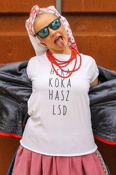 BRAIN INSIDE - Koszulka Hera Koka Hasz LSD