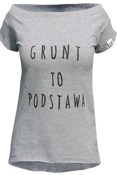 BRAIN INSIDE - Koszulka Grunt to Podstawa