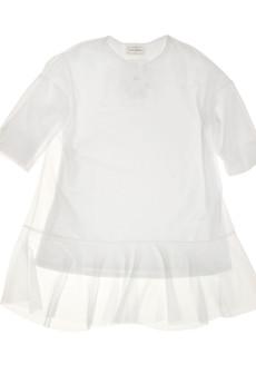 decodada - minimalistyczna, biała oversize
