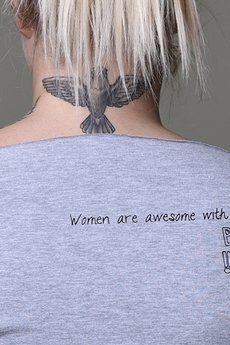 Zbli%c5%bcenie women are awesome szara