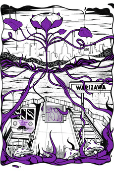 UV21 Art & Design Exhibitions - Warszawa 1 - Elroy / fioletowa