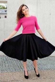 SYLWIA SNOCH - Marylin spódnica czarna