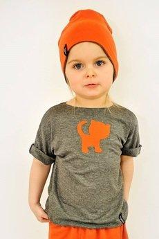 Lajn - Koszulka Dziecięca Kotek Lajn Kids