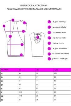 Unicorno sukienka mila r%c3%b3%c5%bcowopomara%c5%84czowy 3 wymiary