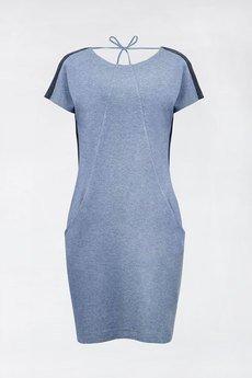 Unicorno sukienka mila niebiesko granatowa 4 packshot