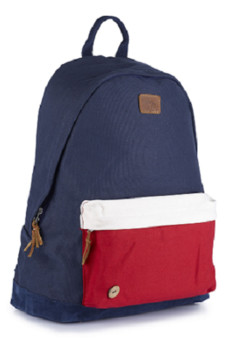 Backpack navy chili