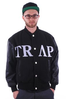 RTC Reality Trap Clothing - Trap Movement Baseball Jacket LIMITED
