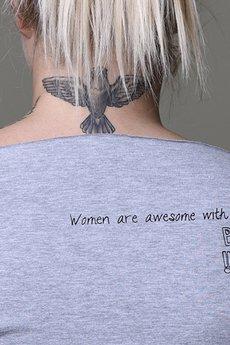 Zbli%c5%bcenie women are awesome szara