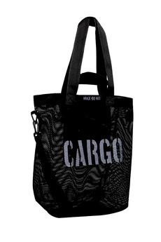 CARGO by OWEE - CARGO by OWEE M-size bag - BLACK MESH