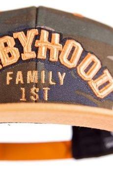 BABYHOOD - Czapka Snapback Family 1st Military Orange
