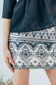 Klaudyna Cerklewicz Fashion - SPÓDNICA AZTECKA