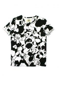 Luiza Kimak - T-shirt czarno-biały
