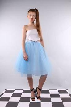 - Spódnica tiulowa Pavlova baby blue