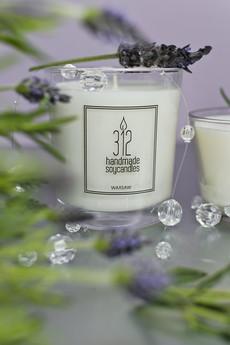 312 Handmade Soy Candles - Aromatyczna świeca sojowa - lawenda (200 ml)