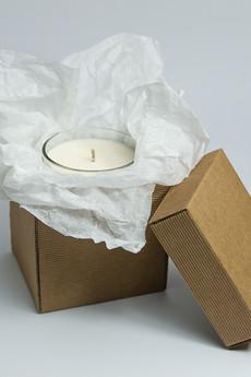 312 Handmade Soy Candles - Aromatyczna świeca sojowa - trawa cytrynowa (200 ml)
