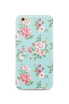 ZO-HAN - iPhone Case - Dots & Roses