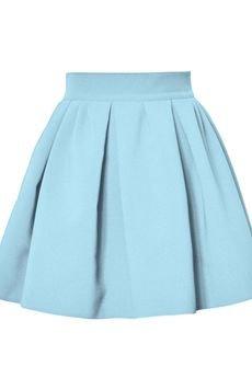 KOZACKI MOPS - Spódnica Macarons baby blue