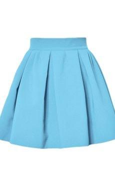 - Spódnica Macarons błękitny