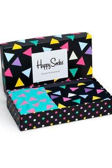 HAPPY SOCKS - Combo Box damski Happy Socks XBT62-099