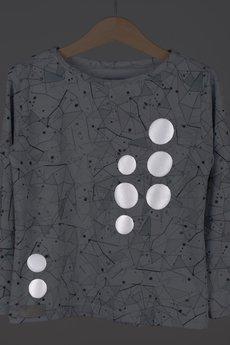 ballady & pajonki - odblaskowa bluzka NEOfaktur