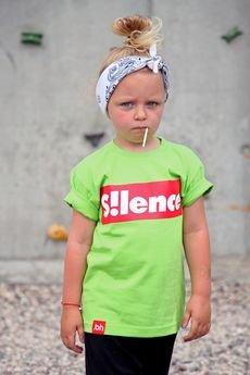- T-SHIRT SILENCE GREEN