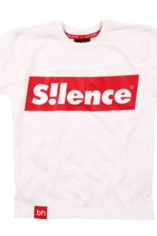 - T-SHIRT SILENCE WHITE