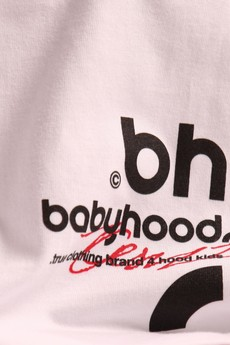 BABYHOOD - T-SHIRT SILENCE WHITE