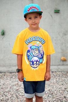 BABYHOOD - T-SHIRT HOODINI YELLOW