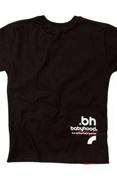 BABYHOOD - T-SHIRT BH#1 BLACK
