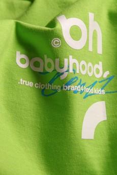 BABYHOOD - T-SHIRT FULL TIME CRIME GREEN