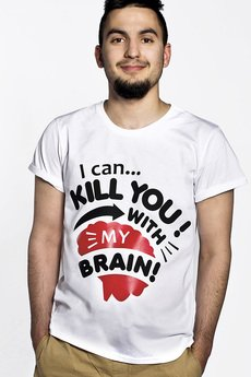 - Koszulka My Brain Can Kill