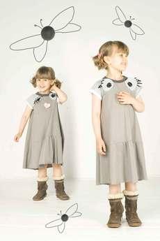 decodada - oversizowa sukienka oczy