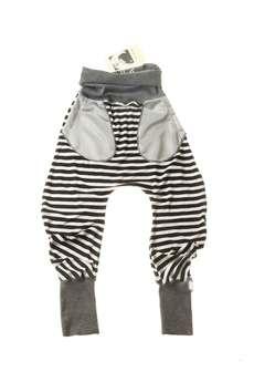 decodada - spodnie baggy w paski
