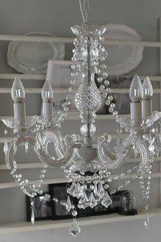 MIA home passion - Żyrandol z kryształkami II