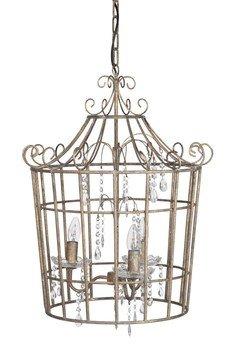 - Żyrandol metalowy Cage