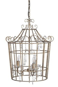 MIA home passion - Żyrandol metalowy Cage